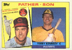 1985 Topps Baseball Cards      135     Terry/Bob Kennedy FS