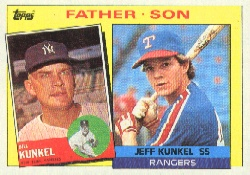 1985 Topps Baseball Cards      136     Jeff/Bill Kunkel FS