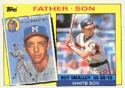 1985 Topps Baseball Cards      140     Roy/Roy Smalley FS