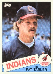 1985 Topps Baseball Cards      158     Pat Tabler