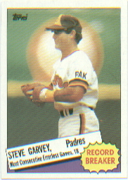 1985 Topps Baseball Cards      002      Steve Garvey RB