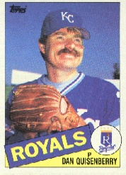 1985 Topps Baseball Cards      270     Dan Quisenberry