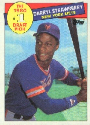 1985 Topps Baseball Cards      278     Darryl Strawberry FDP