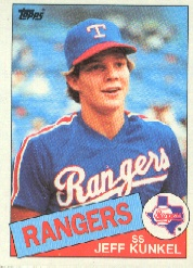 1985 Topps Baseball Cards      288     Jeff Kunkel