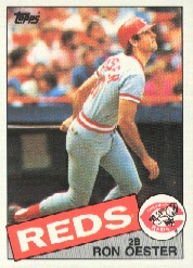 1985 Topps Baseball Cards      314     Ron Oester