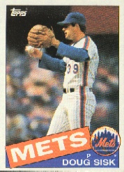 1985 Topps Baseball Cards      315     Doug Sisk