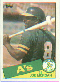 1985 Topps Baseball Cards      352     Joe Morgan
