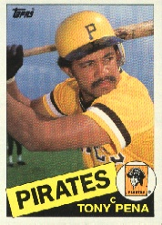1985 Topps Baseball Cards      358     Tony Pena