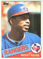 1985 Topps Baseball Cards      371     Mickey Rivers