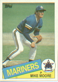 1985 Topps Baseball Cards      373     Mike Moore