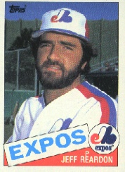 1985 Topps Baseball Cards      375     Jeff Reardon