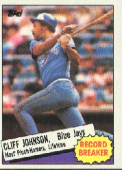 1985 Topps Baseball Cards      004      Cliff Johnson RB