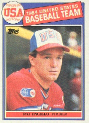 1985 Topps Baseball Cards      402     Pat Pacillo OLY RC
