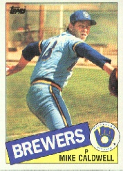 1985 Topps Baseball Cards      419     Mike Caldwell