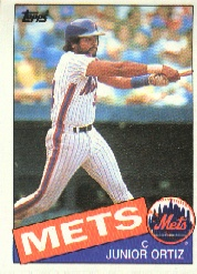 1985 Topps Baseball Cards      439     Junior Ortiz