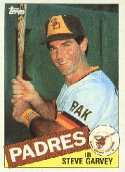 1985 Topps Baseball Cards      450     Steve Garvey