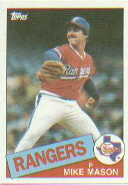 1985 Topps Baseball Cards      464     Mike Mason RC