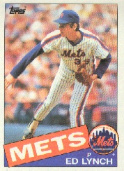 1985 Topps Baseball Cards      467     Ed Lynch