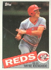 1985 Topps Baseball Cards      468     Wayne Krenchicki