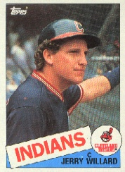 1985 Topps Baseball Cards      504     Jerry Willard