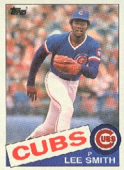 1985 Topps Baseball Cards      511     Lee Smith