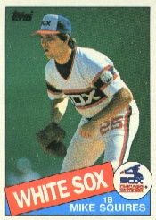 1985 Topps Baseball Cards      543     Mike Squires