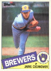 1985 Topps Baseball Cards      576     Jaime Cocanower