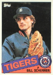 1985 Topps Baseball Cards      586     Bill Scherrer