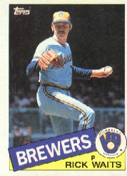 1985 Topps Baseball Cards      059      Rick Waits