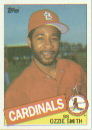 1985 Topps Baseball Cards      605     Ozzie Smith