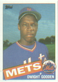 1985 Topps Baseball Cards      620     Dwight Gooden RC