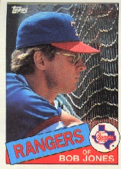 1985 Topps Baseball Cards      648     Bob Jones