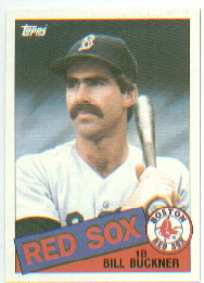1985 Topps Baseball Cards      065      Bill Buckner