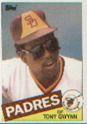1985 Topps Baseball Cards      660     Tony Gwynn