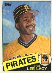 1985 Topps Baseball Cards      669     Lee Lacy