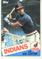1985 Topps Baseball Cards      694     Joe Carter