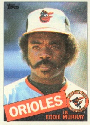 1985 Topps Baseball Cards      700     Eddie Murray