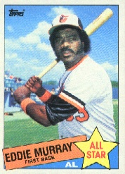 1985 Topps Baseball Cards      701     Eddie Murray AS