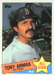 1985 Topps Baseball Cards      707     Tony Armas AS