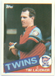 1985 Topps Baseball Cards      071      Tim Laudner