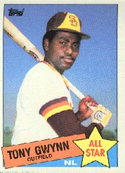 1985 Topps Baseball Cards      717     Tony Gwynn AS