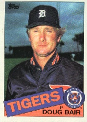 1985 Topps Baseball Cards      744     Doug Bair