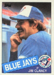 1985 Topps Baseball Cards      746     Jim Clancy