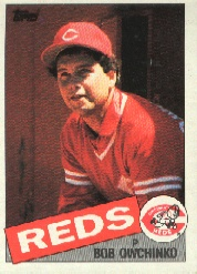 1985 Topps Baseball Cards      752     Bob Owchinko