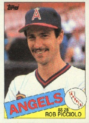 1985 Topps Baseball Cards      756     Rob Picciolo