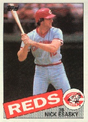 1985 Topps Baseball Cards      779     Nick Esasky