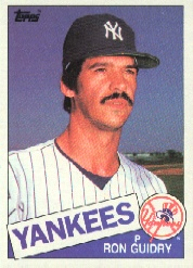 1985 Topps Baseball Cards      790     Ron Guidry