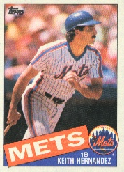 1985 Topps Baseball Cards      080      Keith Hernandez