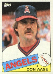 1985 Topps Baseball Cards      086      Don Aase