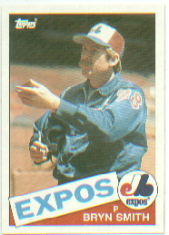 1985 Topps Baseball Cards      088      Bryn Smith